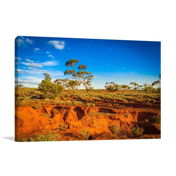 Red Banks Art Print Outback Photo Artwork