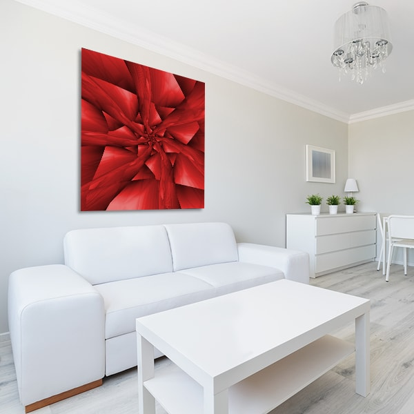 Red Flower Art Prints