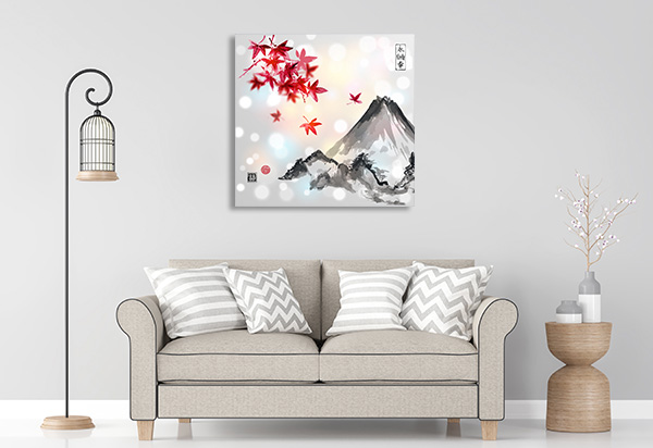 Red Maple Canvas Prints