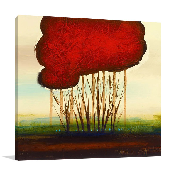 Red Solo I Canvas Print | Allen