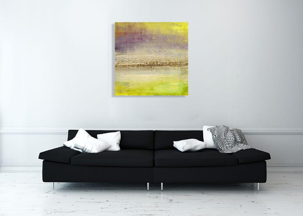 Refraction Horizon I | Abstract Print on Canvas