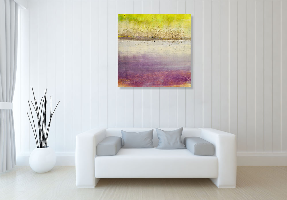 Square Contemporary Abstract Print Perth