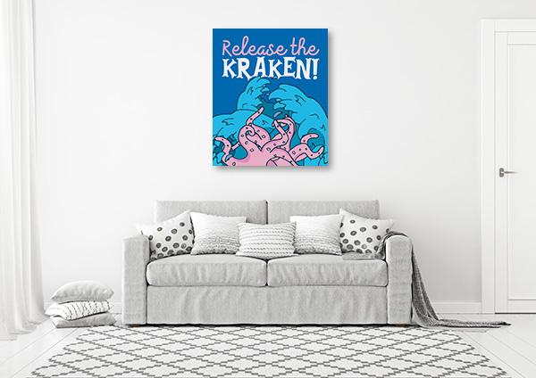 Release The Kraken Artwork