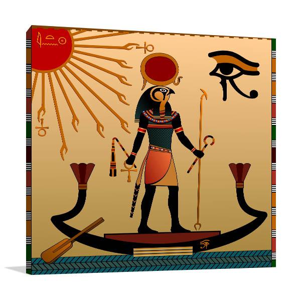 Religion of Ancient Egypt Canvas Art