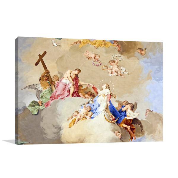 Religious Fresco Wall Art