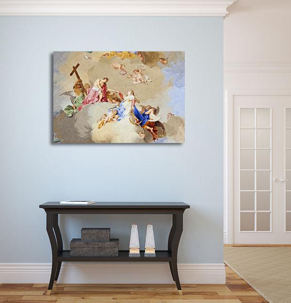 Religious Fresco Prints Canvas