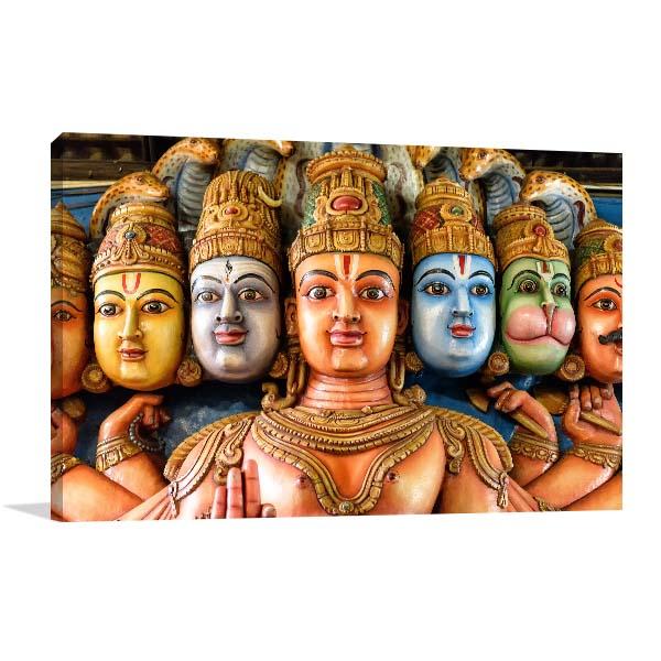 Religious Masks Art Prints