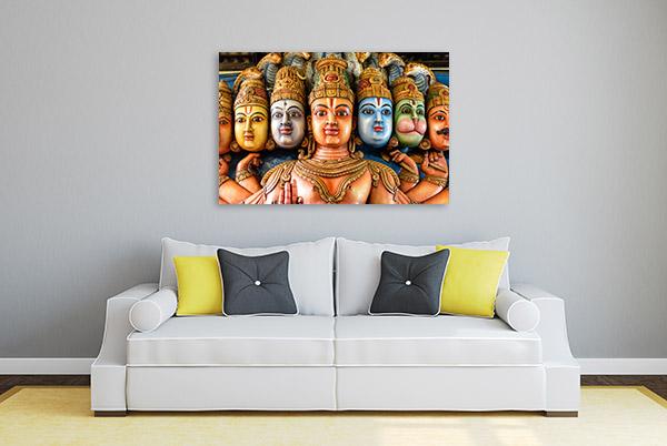 Religious Masks Artwork