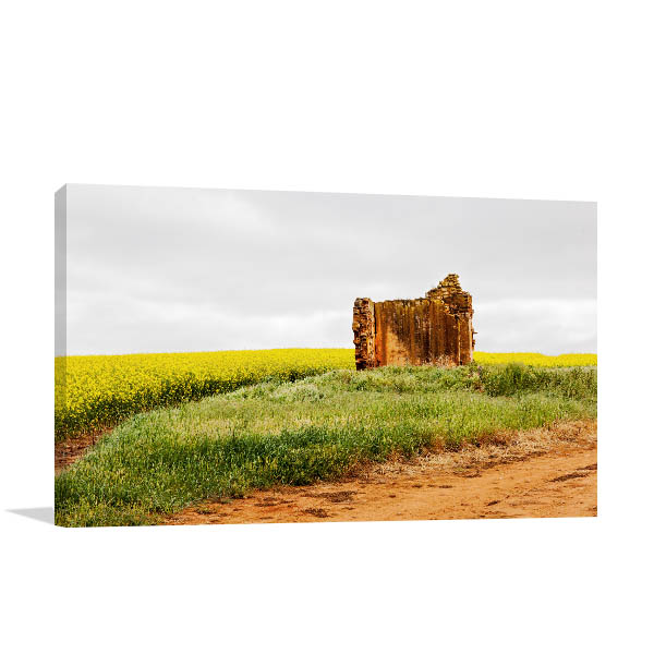 Renmark Art Print Abandoned Farmhouse Picture Wall