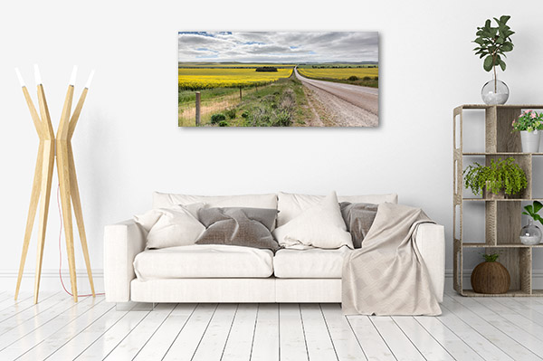 Renmark Wall Art Print Road Canvas Photo