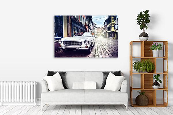Retro Car Canvas Art Prints