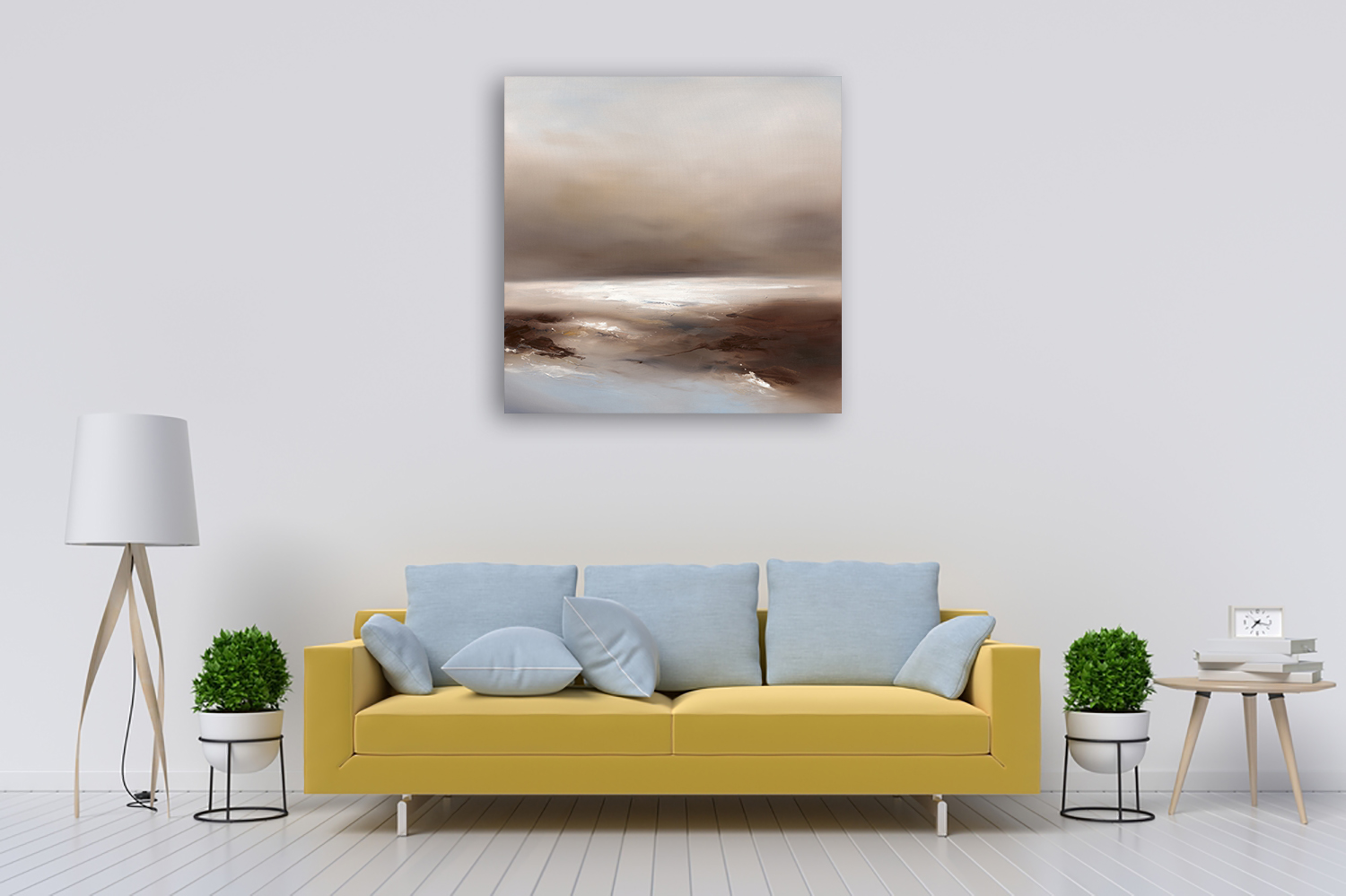 Nature Square Wall Art on Canvas