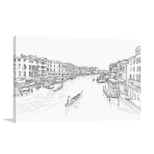Rialto Bridge Art Prints