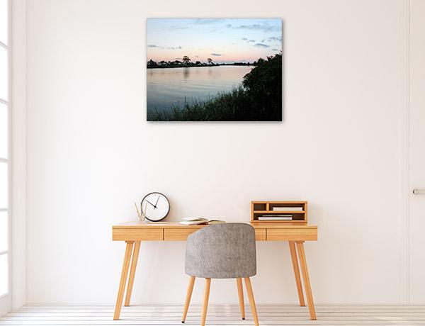Richmond River Art Print New South Wales Photo Canvas