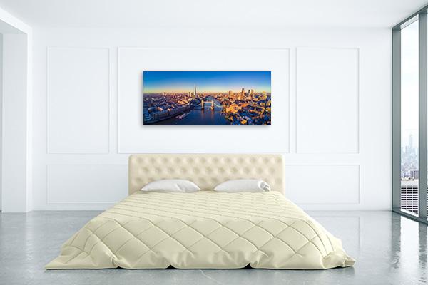 River Thames Panoramic Prints Canvas