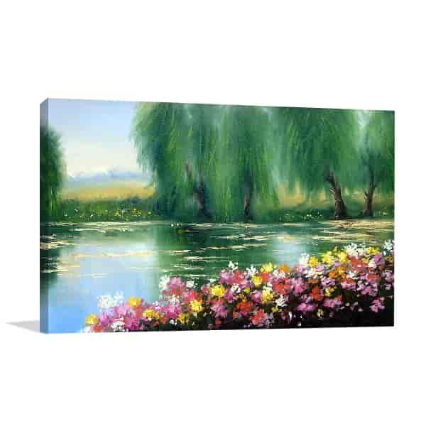 Riverside Canvas Prints