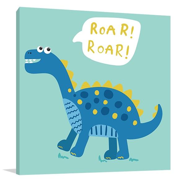 Roar Dinosaur Artwork