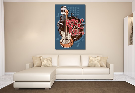 Rock and Roll Artwork