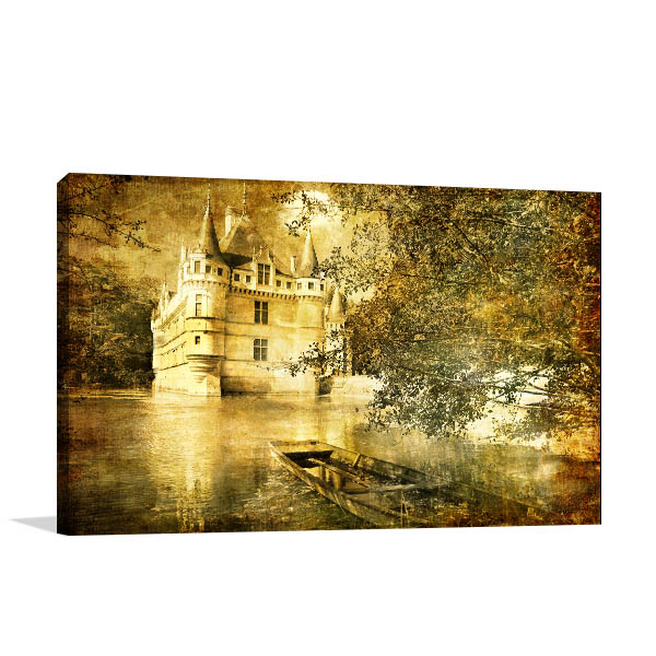 Romantic Castle Wall Art