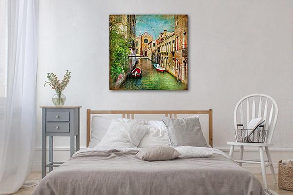 Romantic Venice Canal Wall Art