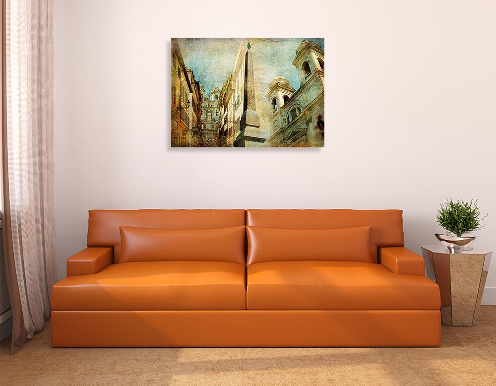 Brown Landscape Wall Print