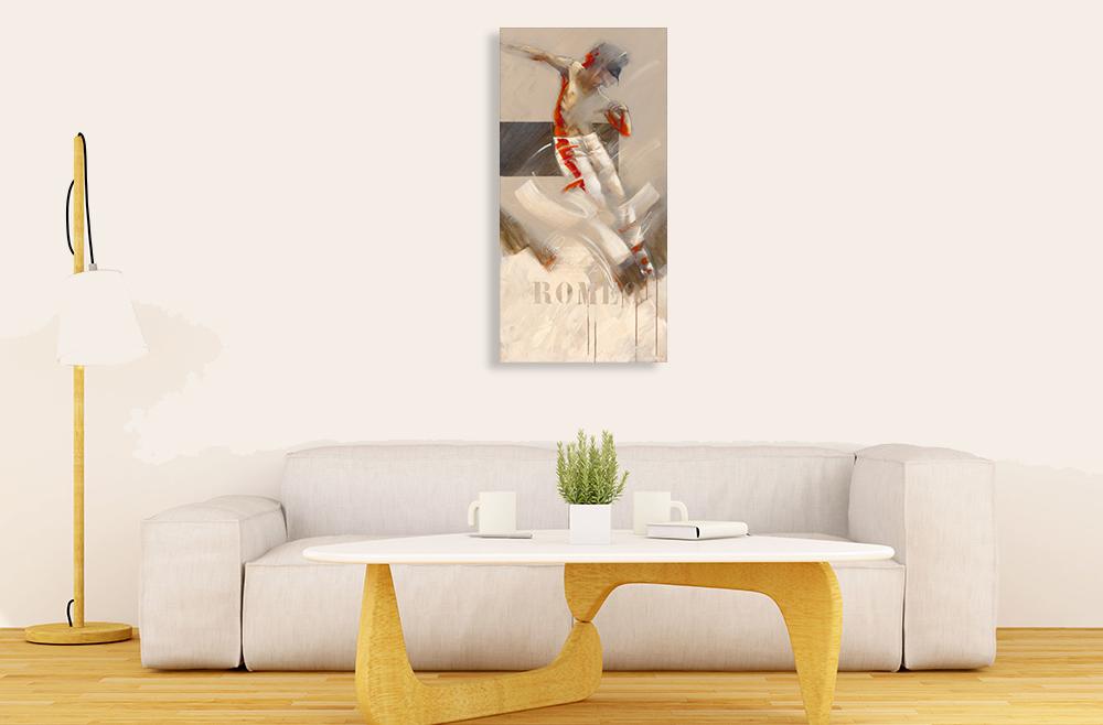 Abstract Panoramic Canvas Art Print