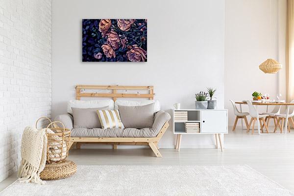 Rose in Garden Wall Art Photo Print