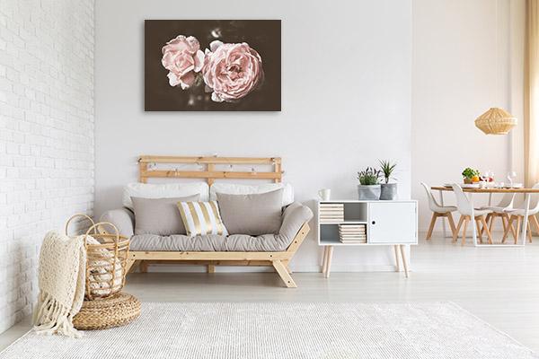 Rose in Warm Tones Picture Art