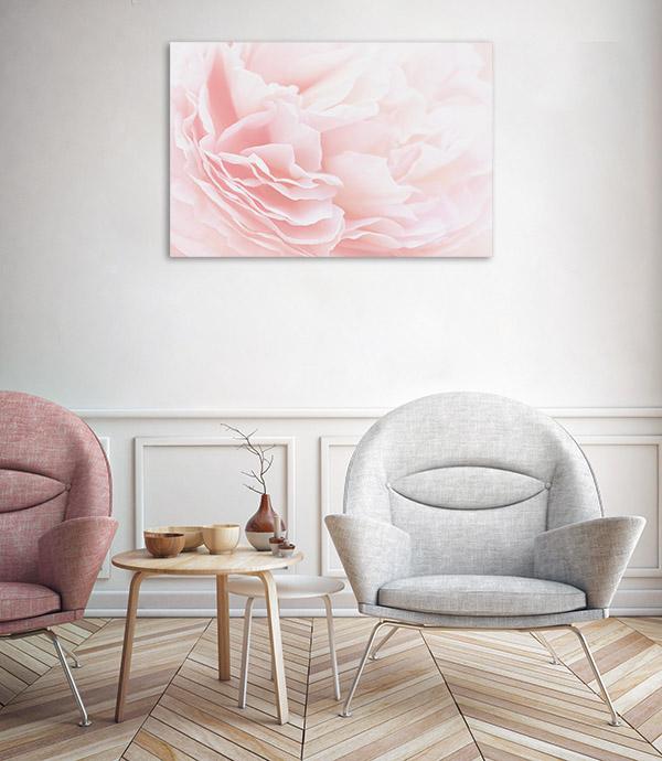 Rose Petals Soft Pastel Art Photo