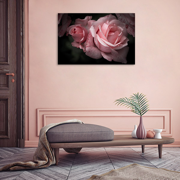 Roses in Spring Canvas Art Prints