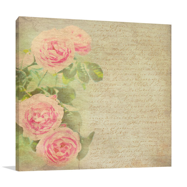 Roses Pattern Artwork