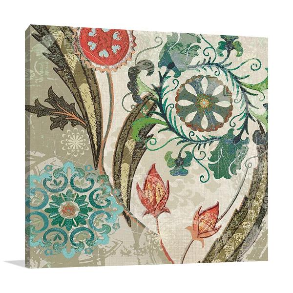 Royal Tapestry I Canvas Print   Carol Robinson