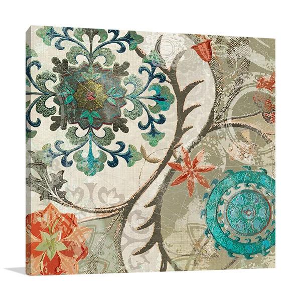 Royal Tapestry II Print | Carol Robinson