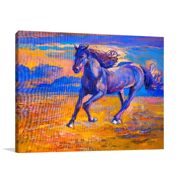 Running Horse Artwork