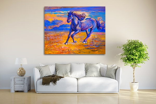 Running Horse Art Prints