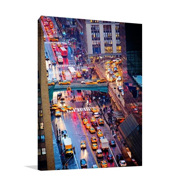 Rush Hour NYC Art Prints