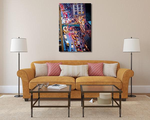 Rush Hour NYC Prints Canvas