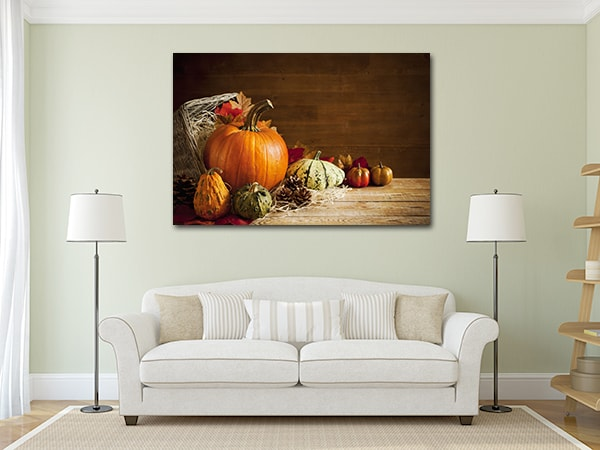 Rustic Autumn Canvas Prints on the Wall