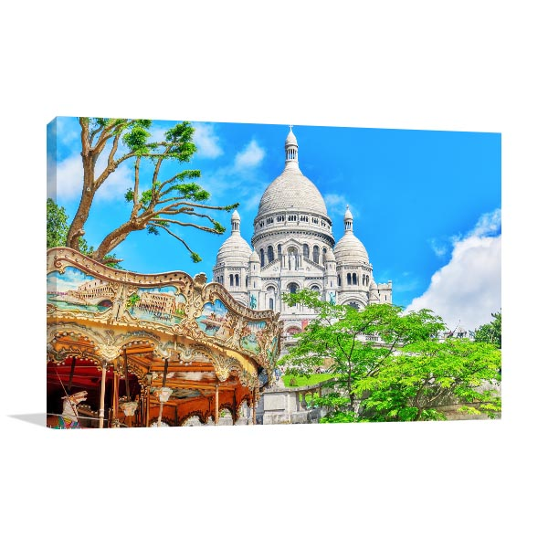 Sacre Coeur Cathedral Art Prints