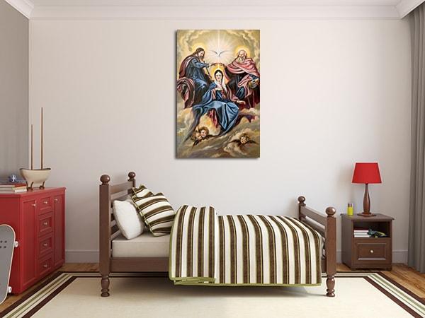 Sacred Gods Wall Art Print on the wall