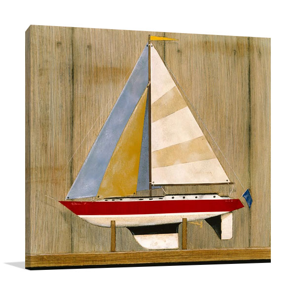 Sailboat I Wall Print | Hall R