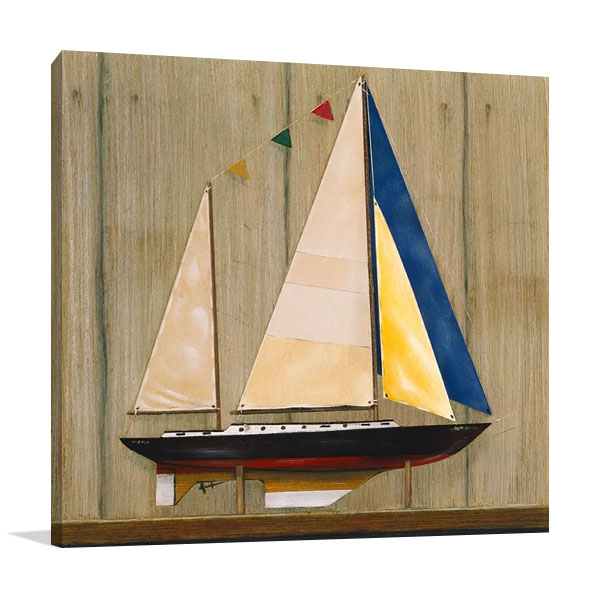 Sailboat II Wall Print | Hall R