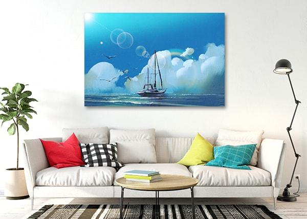 Sailboat Wall Canvas