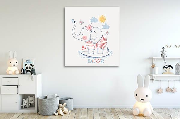 Sailor Elephant Wall Art