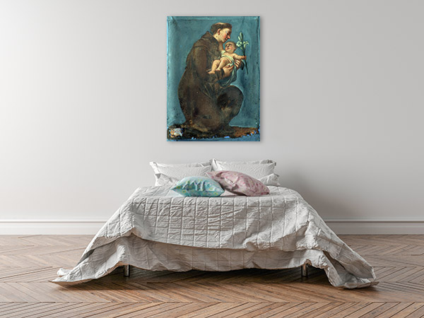 Saint Anthony Of Padua Canvas Art Prints