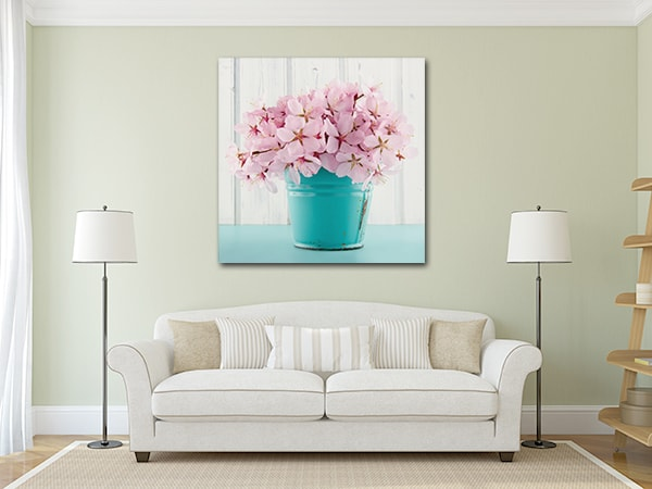 Sakura Print Art Canvas on the Wall