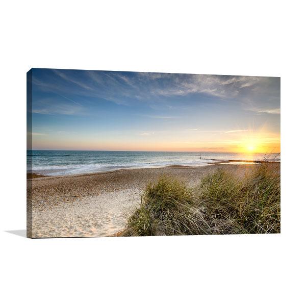Sand Dunes Canvas Art Prints