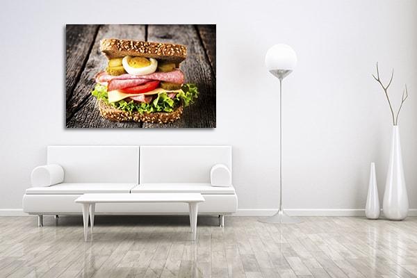 Sandwich Print Artwork