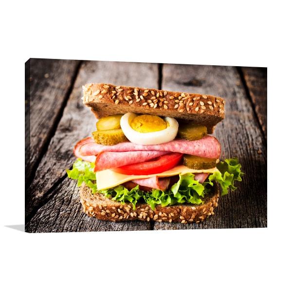 Sandwich Wall Art