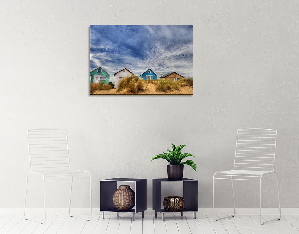 Blue Photography Print on Canvas